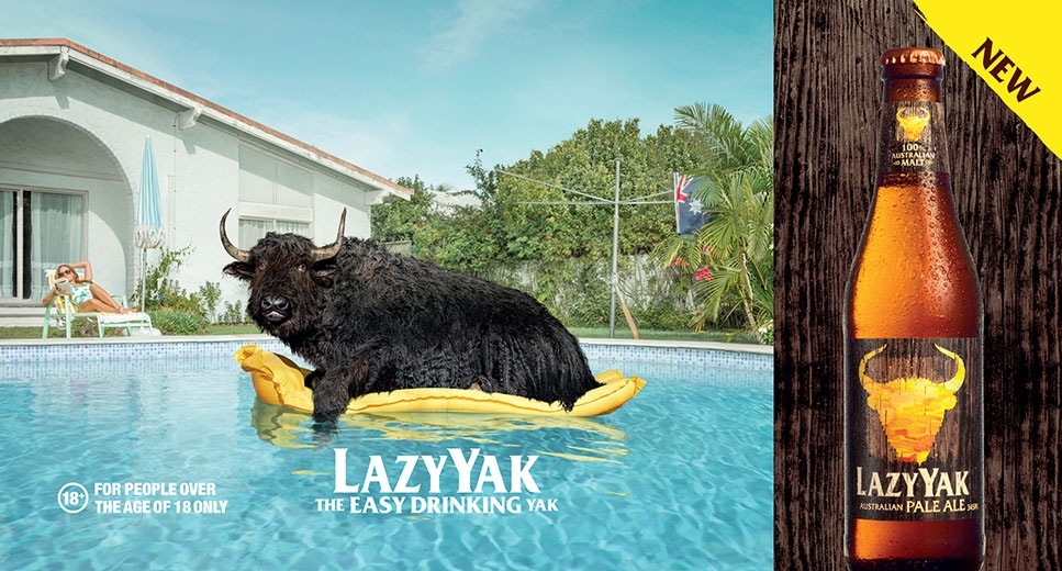 Lazy Yak | Sean Izzard | Advertising Styling | Jo Ayling