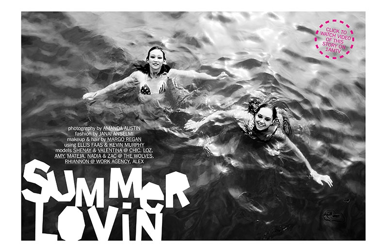 Summer Lovin' | 1am Magazine | Amanda Austin | Fashion Styling | Janai Anselmi